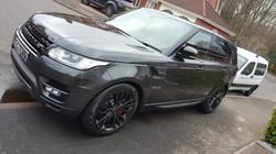 Range Rover Sport, car valeting