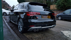 Audi s3, mint condition, car valeting Birmingham