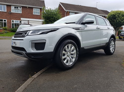 Range rover evoque, mint condition car valeting birmingham