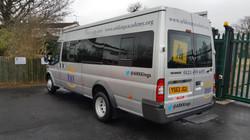 Ford Transit Minibus, car valeting Birmingham, Mobile valeting west midlands