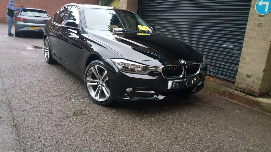 bmw 3 series, car valeting birmingham, mobile valeting west midlands