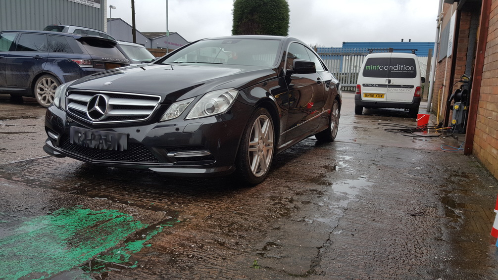 Mercedes, mint condition, car valeting Birmingham