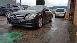 Mercedes, mint condition, car valeting Birmingham