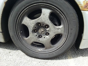 Wheel cleaning guide