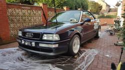Audi 80, car valeting Birmingham, mobile valeting Midlands