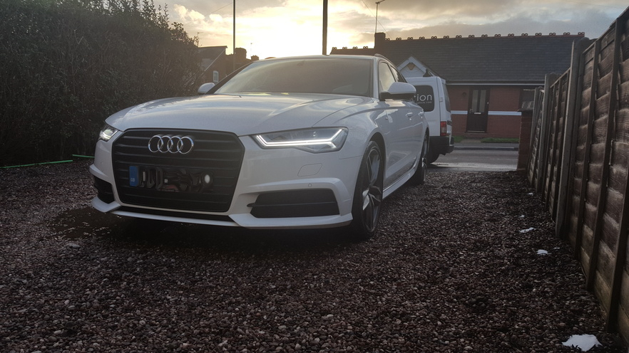 Audi A6, car valeting birmingham, mint condition