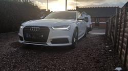 Audi A6, car valeting birmingham, mint condition