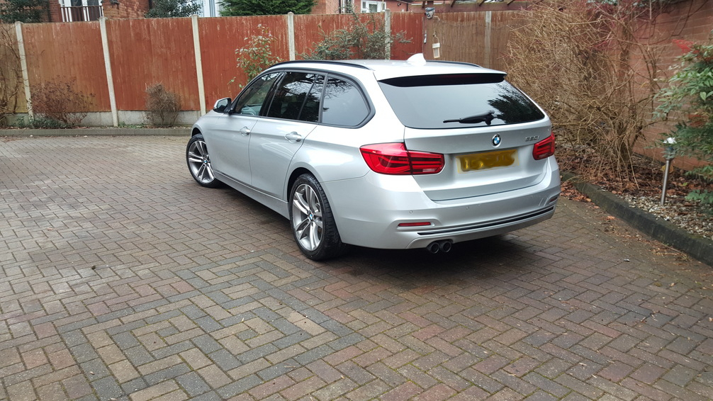 BMW 3 series, car valeting Birmingham, Mobile valeting Birmingham, mint condition professional vehic