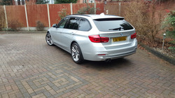 BMW 3 series, car valeting Birmingham, Mobile valeting Birmingham, mint condition professional vehic