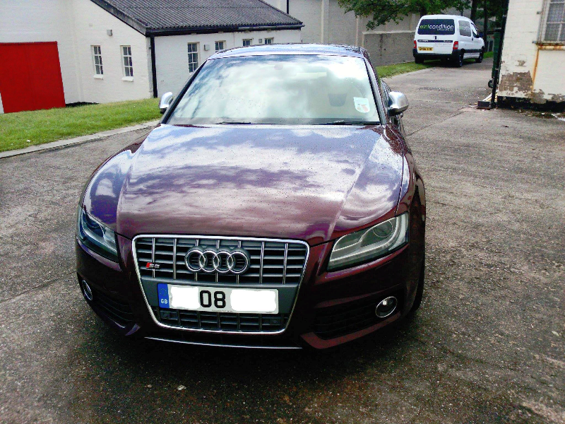 AUDI S5 MINT CONDITION VALETING