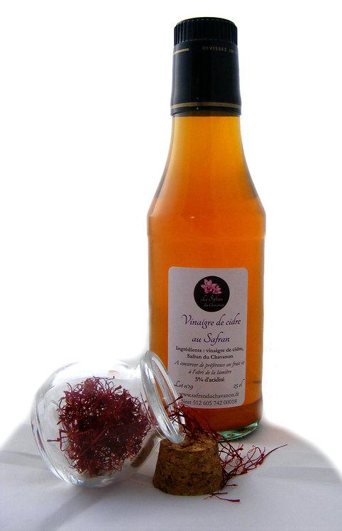 Vinaigre de Cidre au Safran du Chavanon