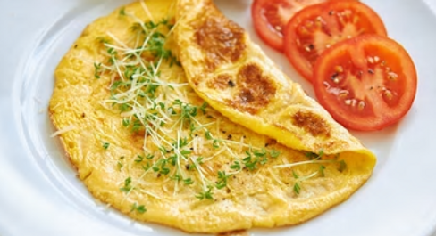 Omelette au Safran