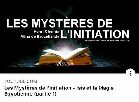 Isis et la magie égyptienne : +2000 vues
