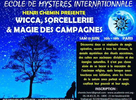 Wicca et magie des campagnes