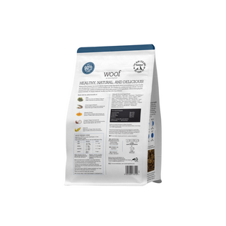 Woof Beef Air Dried Back 750g.png