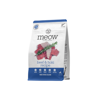 Meow Beef & Hoki Air Dried Front 750g.pn