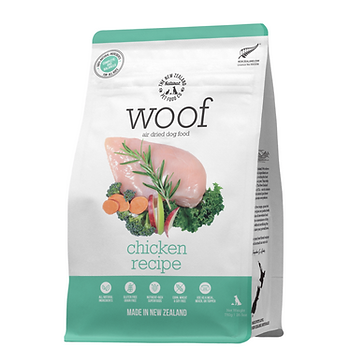 Woof Chicken Air Dried Front 750g.png