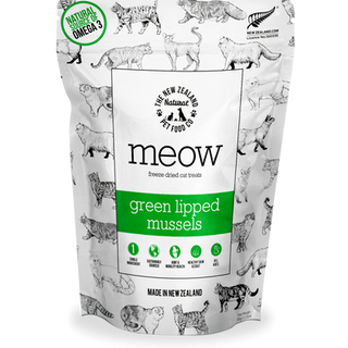 Meow Treat Green Lipped Mussels Front.pn