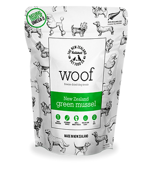 Woof Green mussel treat front.png