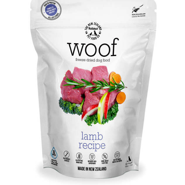 Woof 320g Lamb Front.png