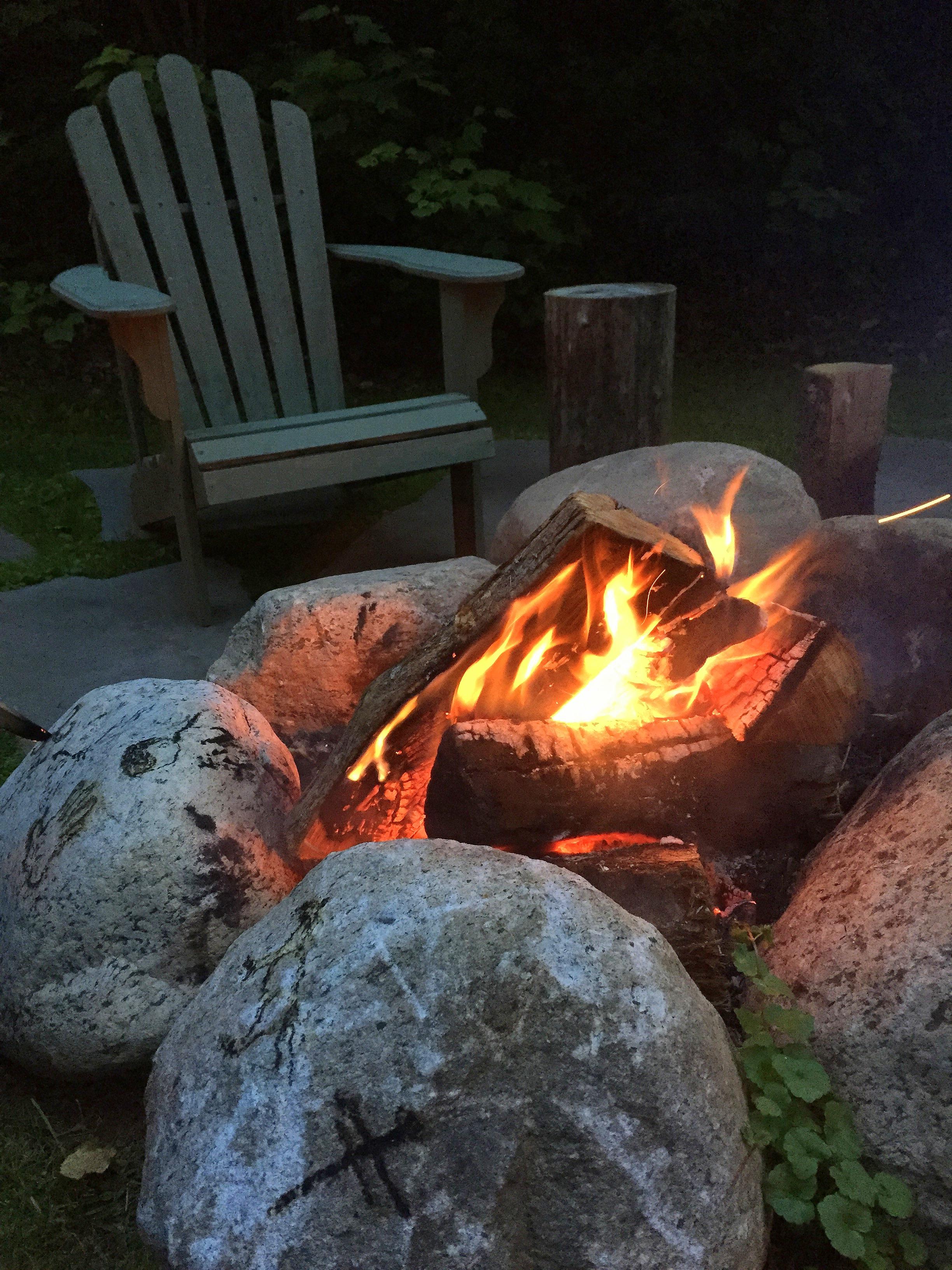 Cozy Fire Pit