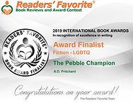 Alan David Pritchard Readers' Favorite International Book Awards Ceremony 2019