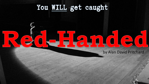 Red-Handed by Alan David Pritchard