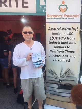 Alan David Pritchard Miami International Book Fair 2019