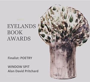 Alan David Pritchard Widow Spit Finalist Award Eyelands Book Awards 2019