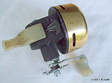 Auto Flite gold anodised second model design vintage fishing reel