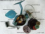 Alpha Omega vintage fishing reel gear housing specfications