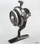 ILLINGWORTH vintage Thread line fishing reel invented by Alfred Ellington