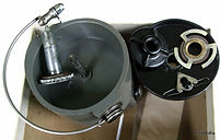 Spin-Master Grey Mark 11 vintage fishing reel Rotor & Clutch view