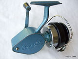 Alpha Blue Omega vintage fishing reel made in Australia