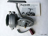 ALPHA FLEXON model 3368A 'Lightweight de-luxe' Silver type paint finish. Made in Australia