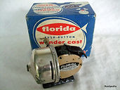 Florida vintage fishing reel casting reel & box.
