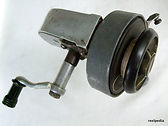 Plum vintage spinning reel made in Australia