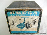 Alpha Omega vintage fishing reel box