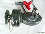 Alpha 414 vintage spinning fishing reel