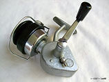 Alpha Silver Omega vintage fishing reel