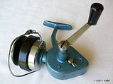Alpha Blue Omega vintage fishing reel