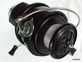 Spin-Master black Mk.11 vintage fishing reel .