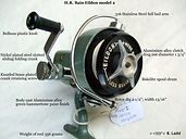 Last version model Eildon vintage spinning reel Specifications