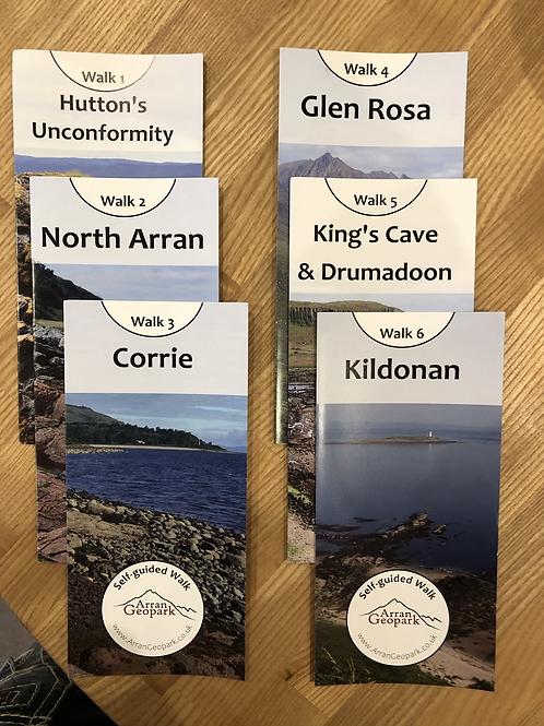 Geopark/Trail Leaflets (set of 6)