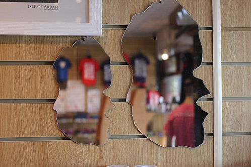 Arran Shaped Mirrors