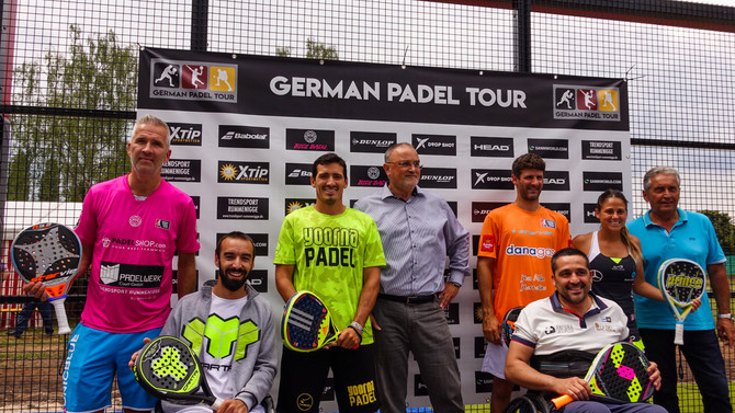 German Padel Tour zu Gast