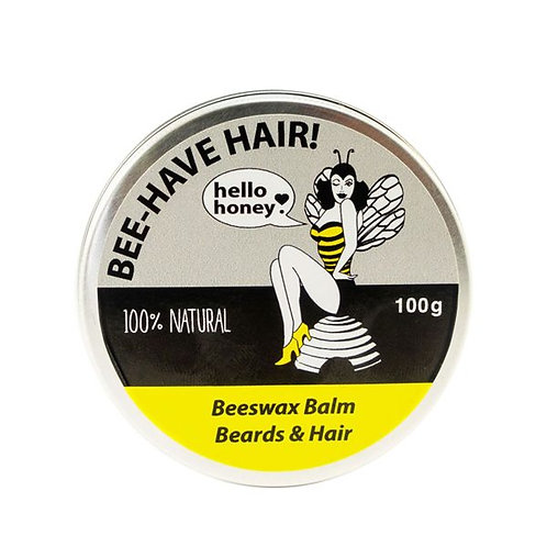 BEE-HAVE HAIR! Balm for Beards and Hair