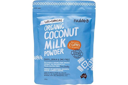 Life-Changing Organic Coconut Milk Powder