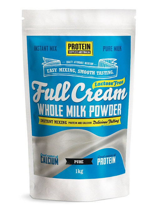 Full Cream Lactose Free Milk Powder