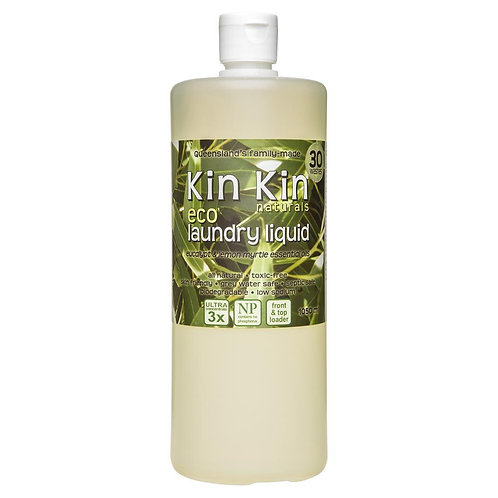 Kin Kin Naturals - Eucalyptus and Lemon Myrtle Laundry Liquid 1050ml